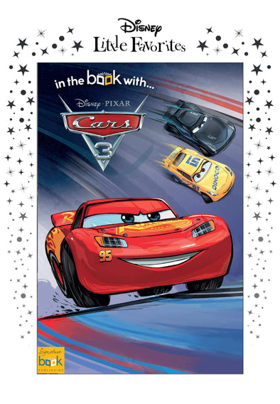 Disney Little Favorites Cars 3 - A5 Softback.