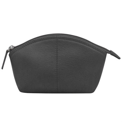 Non-Personalized | Genuine Leather Large Cosmetic Bag.