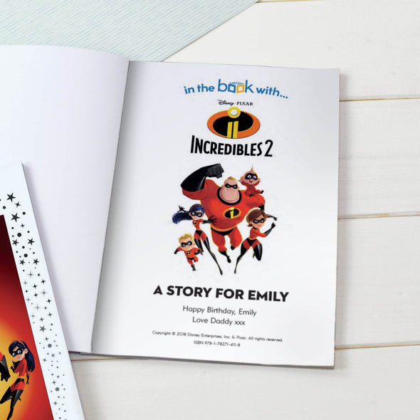 Disney Little Favorites Incredibles 2 - A5 Softback.
