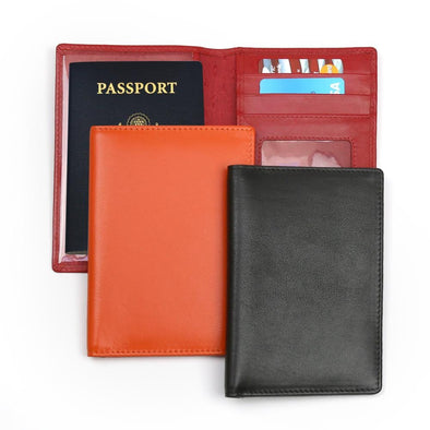 Non-Personalized | Genuine Leather Passport Case.
