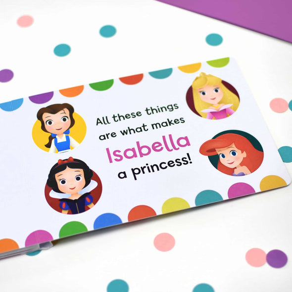 What makes me a Princess Board Book.