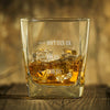 Shut Up Liver You're Fine Personalized Name Whiskey Glass