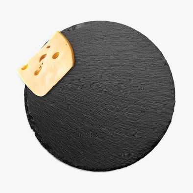 Non-Personalized | Round Slate Cheese Tray.