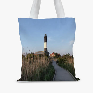 Full Photo Personalized Small Tote Bag.