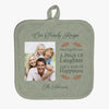 Family Recipe Photo Personalized Pot Holder