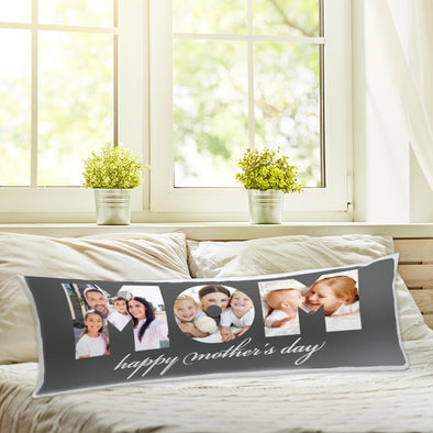 Mother's day custom body pillowcase | Create Your Own Personalized Photo Pillow