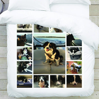 Photo Personalized Collage Blanket - 15 photos