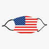 American Flag Fashion Design Printed Reusable Face Mask