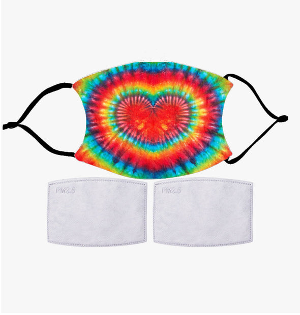 Exclusive Sale | Tie Dye Face Mask | Customized Printed Reusable Fashion Face Cover.