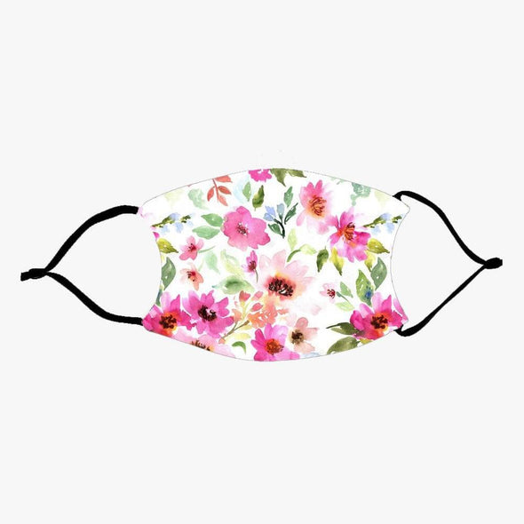 Floral Fashion Design Printed Reusable Face Mask