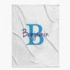 Personalized Baby Blanket | Custom Name & Initial