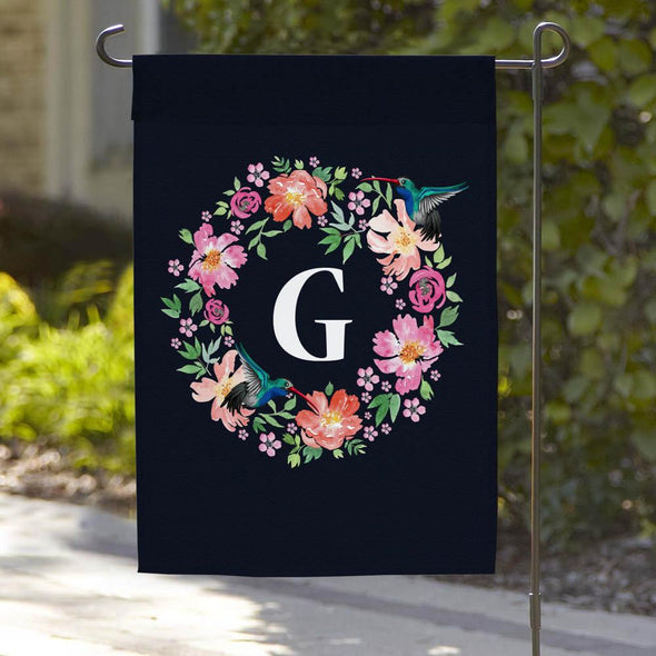 Personalized Flower Truck Welcome Garden Flag
