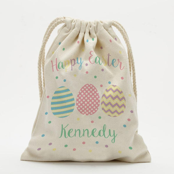 Custom Easter Egg Drawstring Sack