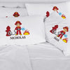 Personalized Fireman Kids Sleeping Pillowcase