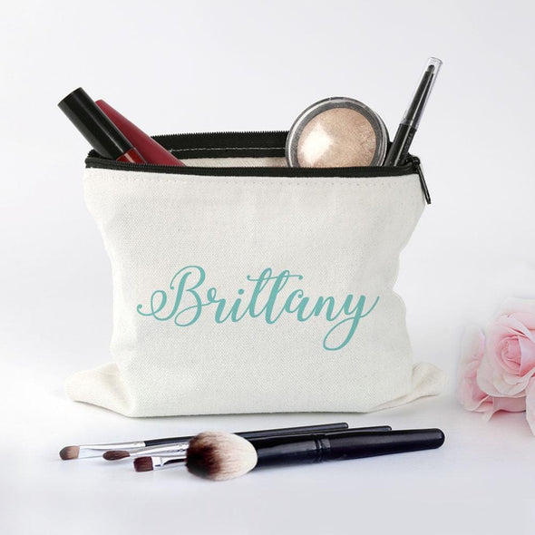 Customized Brittany Makeup Bag.