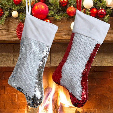 Exclusive Sale | Christmas Sequin Stocking for Kids