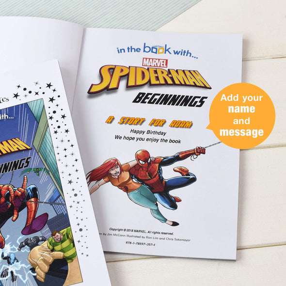 Marvel Little Favorites Spider-man Beginnings - A5 Softback.