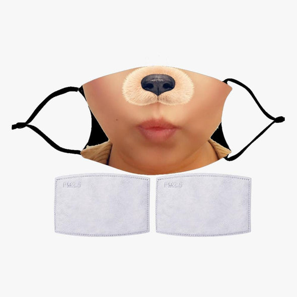 Photo Personalized Face Mask (with 2 Filters Included).