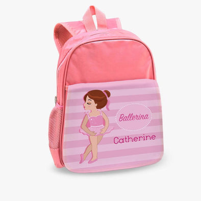 Ballerina Custom Toddler Backpack | Personalized Bookbag.