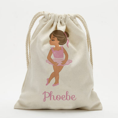 Exclusive Sale - Ballerina Personalized Drawstring Sack