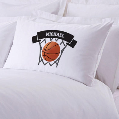 Basketball Football Baseball Personalized Sports Sleeping Pillowcase for Kids.