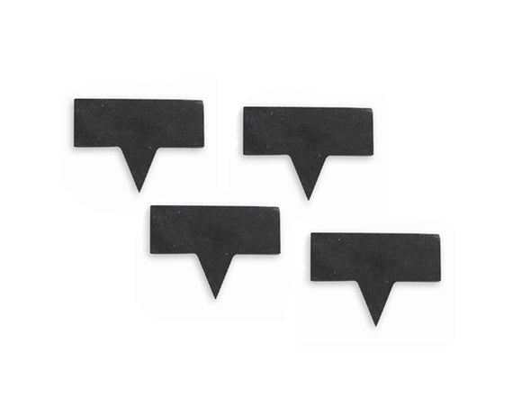 Non-Personalized 4 Piece Set Slate Cheese Markers