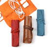 Custom Genuine Soft Leather Multi Cord Small Organizer