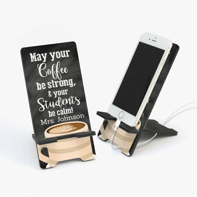 Custom Teacher Cell Phone Stand | Personalized Teacher Gifts.