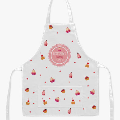 Exclusive Sale - Personalized Sweets Bakery Kids Craft Apron