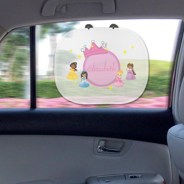 Little Princesses Custom Name Sunshade.