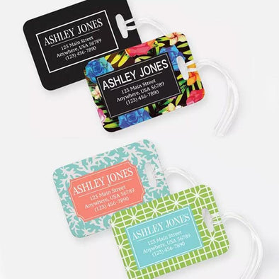 Personalized Luggage Tag | Multiple Designs Custom Luggage Tags