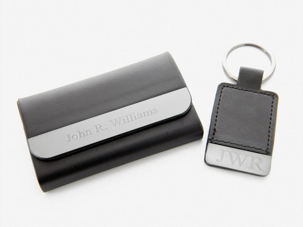 Exclusive Sale | Personalized Boxview Card Case and Key Chain Gift Set