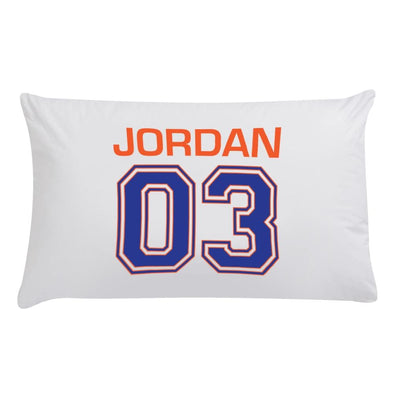 Personalized Player Number Sleeping Pillowcase