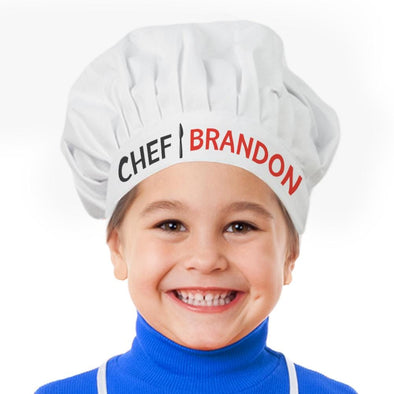 Personalized Little Chef Hat for Kids.