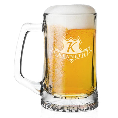Personalized Beer Mug 25 Oz