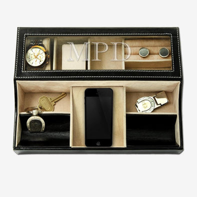 Monogram Open Tray Jewelry / Watch Case.
