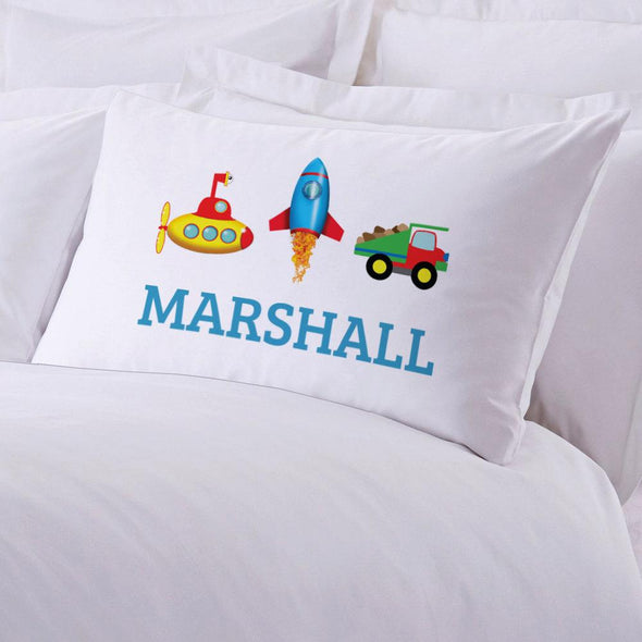 My Little Working Man Personalized Sleeping Pillowcase