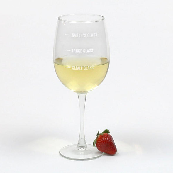 Exclusive Sale - Personalized Arc Cachet White Wine.