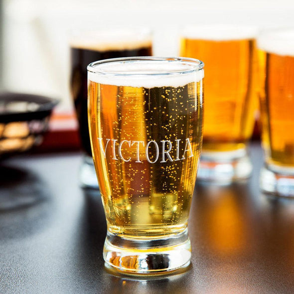 Personalized w/ Name Beer Taster Sampler Glass