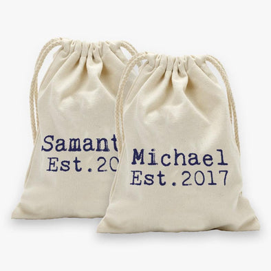 Personalized Established Drawstring Sack