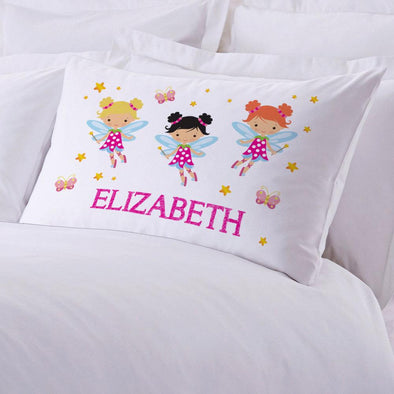 Personalized Fairy Sleeping Pillowcase.