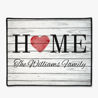 Personalized Family Home Doormat.
