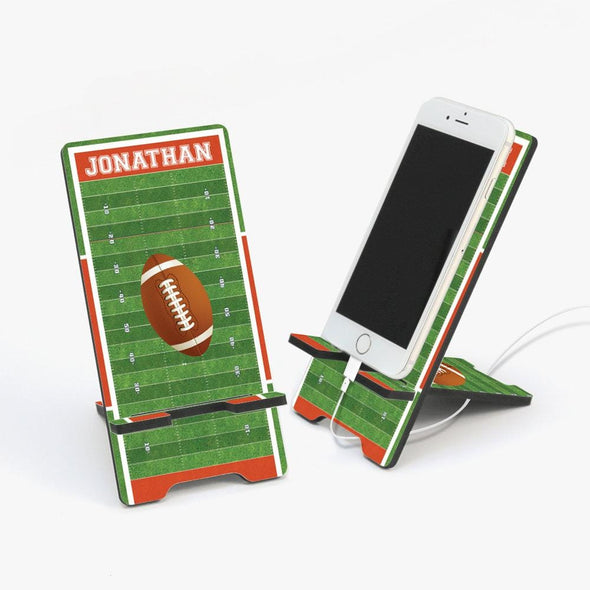 Personalized Football Cell Phone Stand.