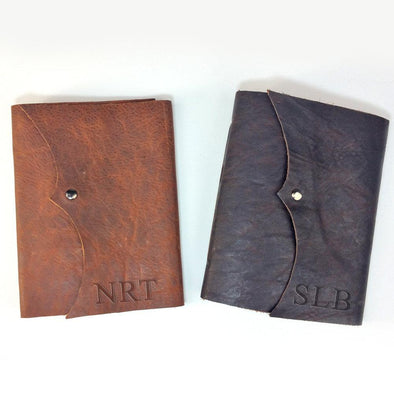 Personalized Genuine Writing Journal with Snap Closure - Medium.