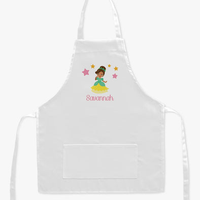 Personalized Kids Princess Character Apron