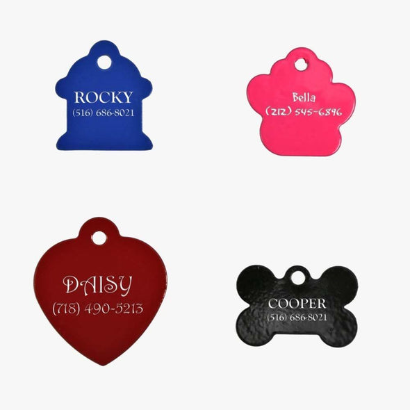 Personalized Laserable Dog Tag.