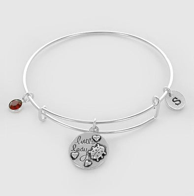 Personalized Little Bug Bangle.