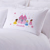 Exclusive Sale - Personalized Princess Castle Sleeping Pillowcase