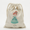 Exclusive Sale - Personalized Princess Character Drawstring Sack