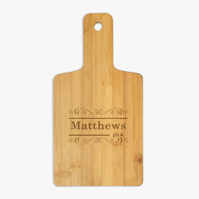 Customized Family Serving Board